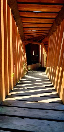 zebra Shadow Architectural Column Corridor Sunlight Architecture Built Structure