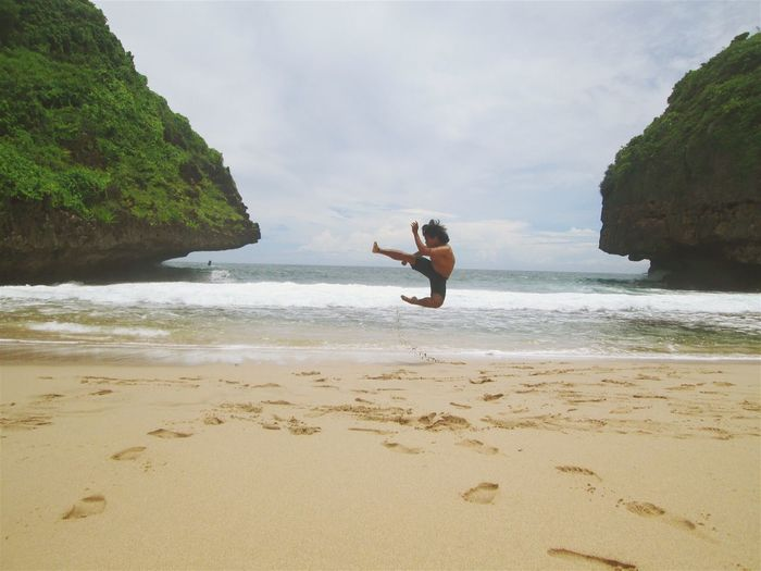 find out paradise in INDONESIA Enjoying Life Relaxing Hello World That's Me Travelling Check This Out Greweng Beach