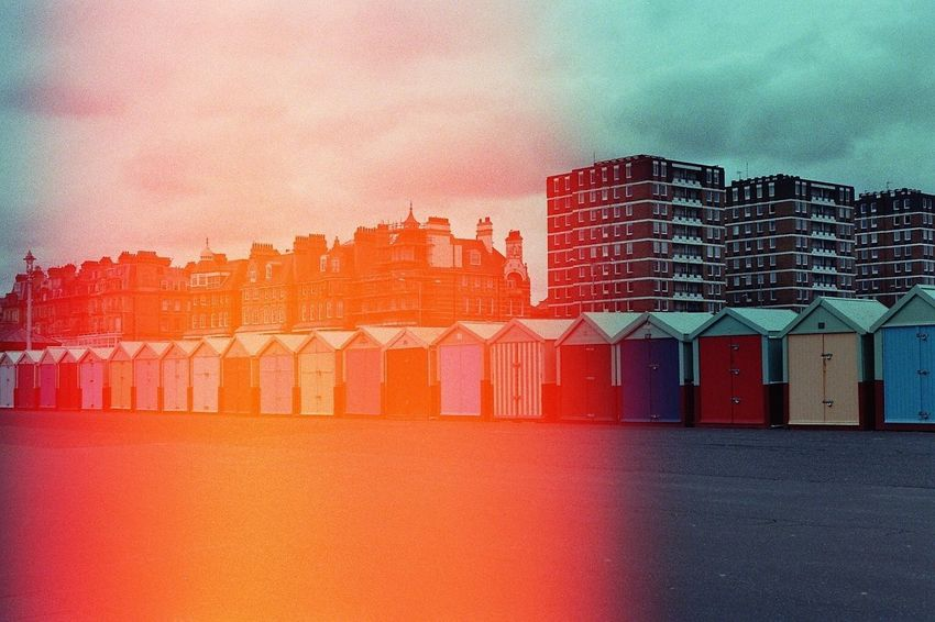 Architecture Red No People Multi Colored Brighton 35mmfilmphotography