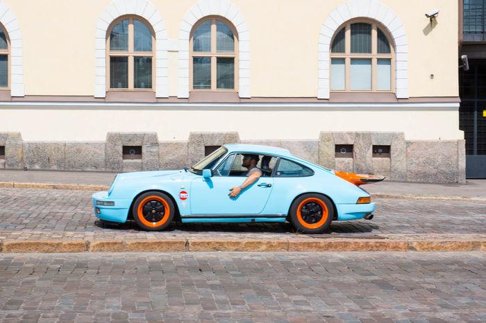 The Drive Porsche Porsche 911 Blue Bluecar Old Car Old Porsche An Eye For Travel