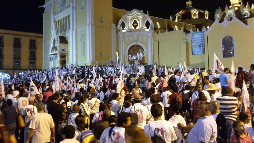 Mitin en Xalapa, Veracruz 😎