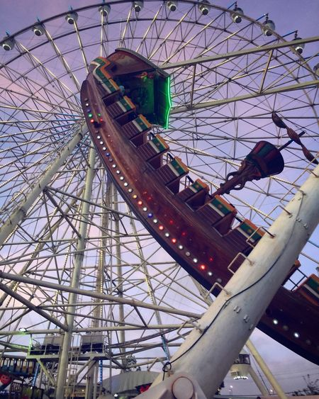 Fly me to Neverland ~ Amusement Park Ferris Wheel Arts Culture And Entertainment Amusement Park Ride Leisure Activity Fun Low Angle View Enjoyment Sky Outdoors