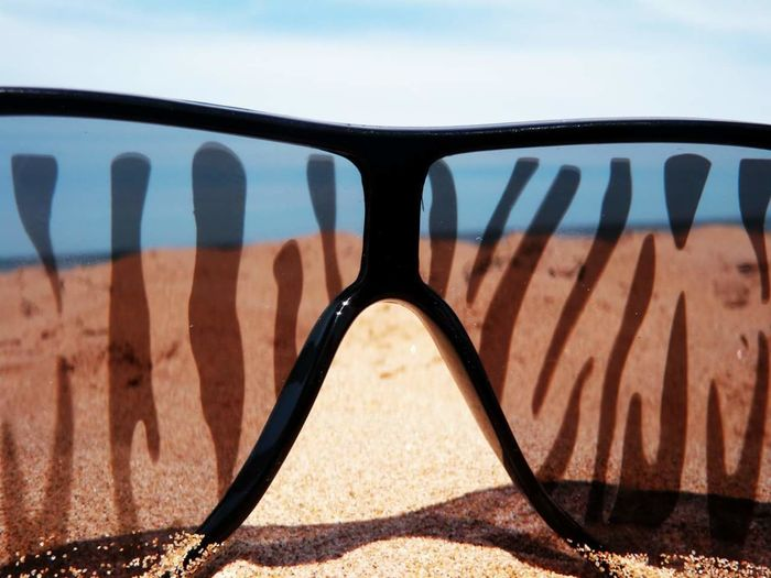 Sand No People Outdoors Sky Close-up Nature Beach Day Sunglasses Sunglassvision