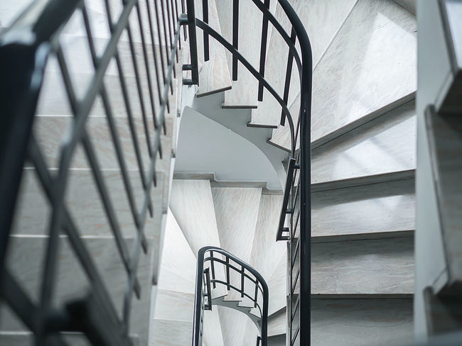 Classic steps Architecture Built Structure Corrimano Day Echelle Geländer Hand Rail Indoors  Mesures No People Railing Rampa Scala Scalini Skala Spiral Spiral Staircase Staircase Stairs Stairway Steps Steps And Staircases Treppe