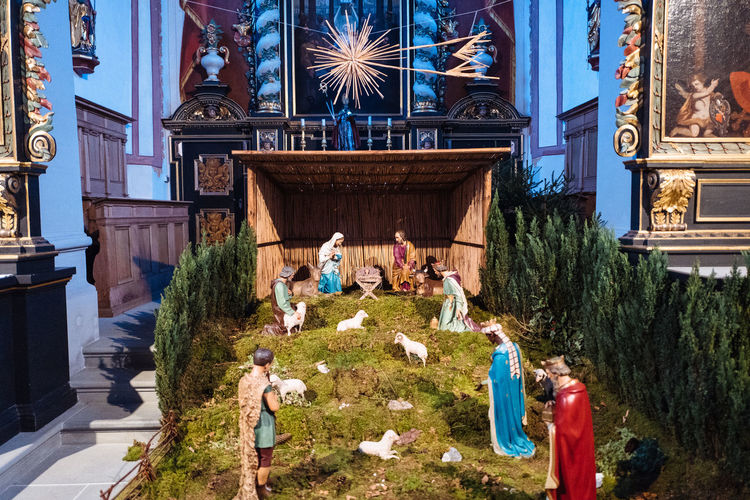 Chapel Chrismtas Church Jesus Nativity Religion Xmas Xmas Decorations