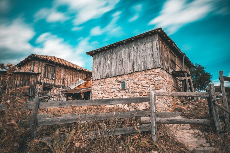 teal&orange all the way Architecture Rhodopemountains Bulgaria Built Structure Long Exposure Travel Destinations Cloud - Sky Abandoned Day Outdoors Building Exterior Wood - Material No People Sky Wide Angle Blurred Motion Tealsky Teal Nature Rhodopes Bulgarian Nature Explore Heritage Building Check This Out FollowMeOnInstagram