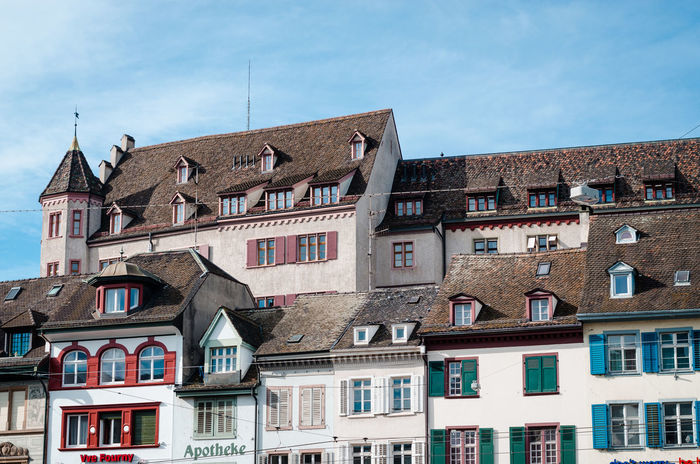 Autumn scenes in Basel Switzerland Architecture Autumn Autumn Colors Autumn Mood Basel Basel Switzerland Building Exterior Built Structure Cloud - Sky Day Low Angle View No People Outdoors Sky Switzerland Switzerlandpictures