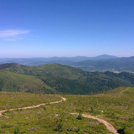 View From  Baraniagora Beautiful Poland Mountains