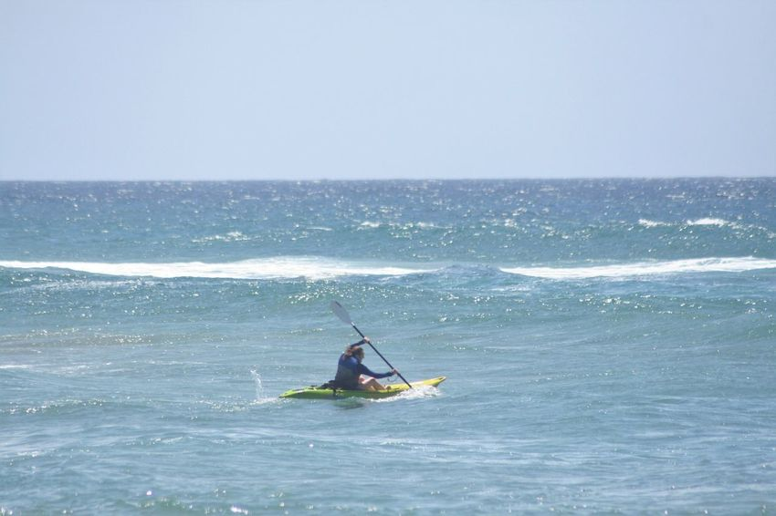 Adventure Day KwaZulu-Natal Coast Leisure Activity Nature Oar One Person Outdoors Real People Sea Sport Vacations Water Be. Ready.