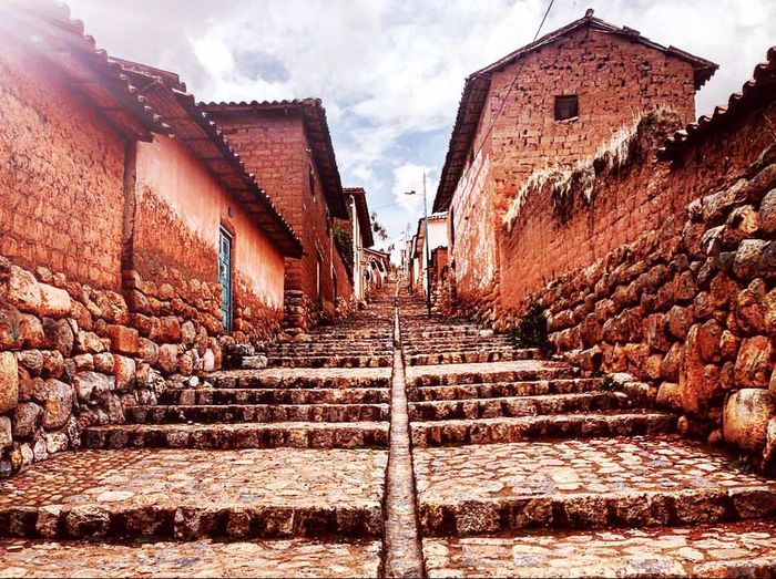 Outdoors No People The Way Forward Sky Day Peru Perutravel Inca Sacred Valley First Eyeem Photo