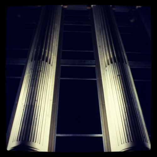 The Pillars Outside Rio de la Plata bank on calle de alcalá madrid spain