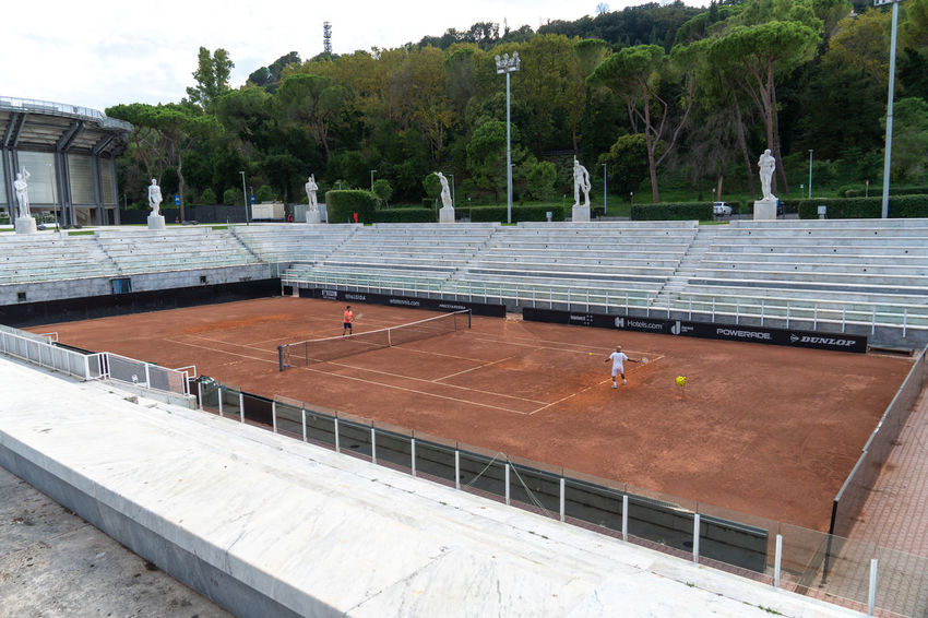 Unrecognizable players on Foro Italico red clay tennis court. Foro Italico, formerly Foro Mussolini, is a sports complex in Rome built between 1928 and 1938 Sport Time Tennis Tennis Club Tennis Player Competition Court Foro Italico Match Match - Sport Outdoors Player Players Playing Field Sport Sport Field Sports Stadium Tennis Court Tennis Courts Tennis 🎾 Tenniscourt