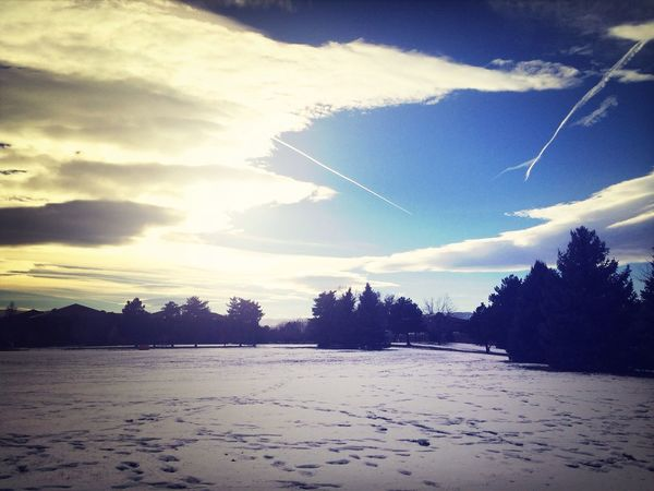 Nature Sky Walking Around Getting Inspired
