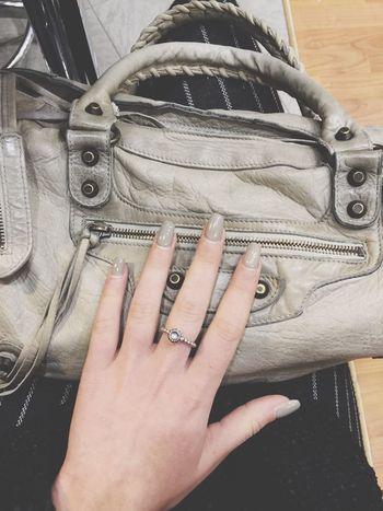 With My Baby 🤗 Nails FiftyShadesOfGrey