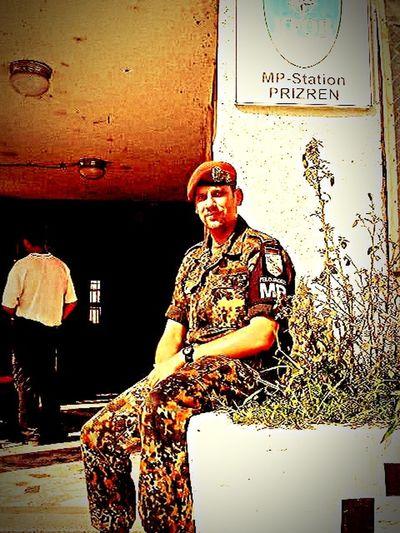 That's Me Military Army Military Police Feldjäger Bundeswehr KFOR Kosovo Prizren Prizrenkosovo