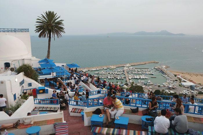 Cafe View Sidi Bou Said Tunisia
