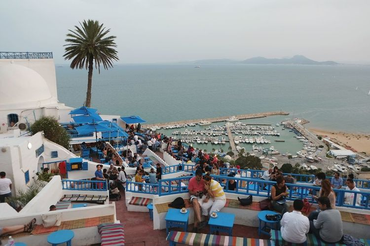 Cafe View Sidi Bou Said Tunisia