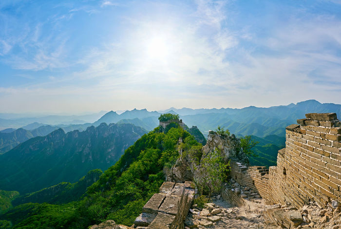 the Great Wall travel Architecture Beauty In Nature Beijing Beijing China Beijing Scenes Beijing Trip Brick Brick Wall China China Beauty China Photos China View East Asia Famous Place Fortress Great History Mountain Mountain Range No People Oriental Outdoors Scenics Sunlight Travel Destinations