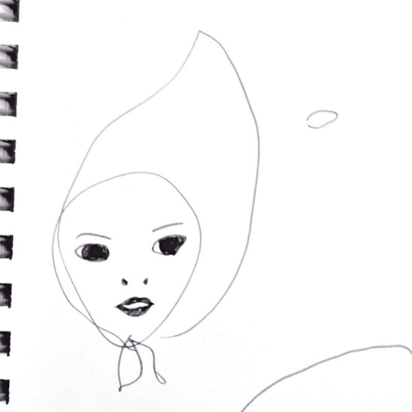 Malika-doodles Kidsdrawing Drawing Fashion&love&beauty Freehandsketch Girly Chic Drawing - Art Product 子供の絵