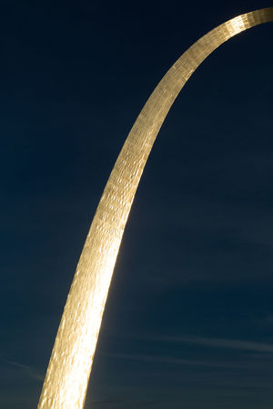 Arch Day Looking Up Metal Metallic Missouri No People Outdoors Saint Louis Arch St Louis Sunset