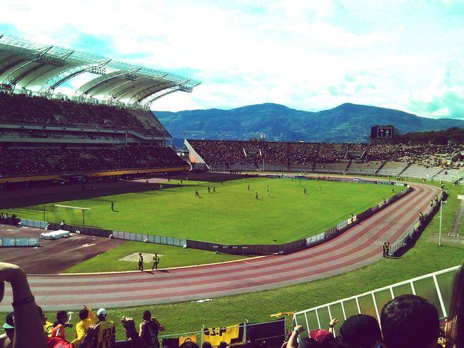 El templo del futbol venezolano Football Ultras Barrasbravas Futbol<3 Sancristobal