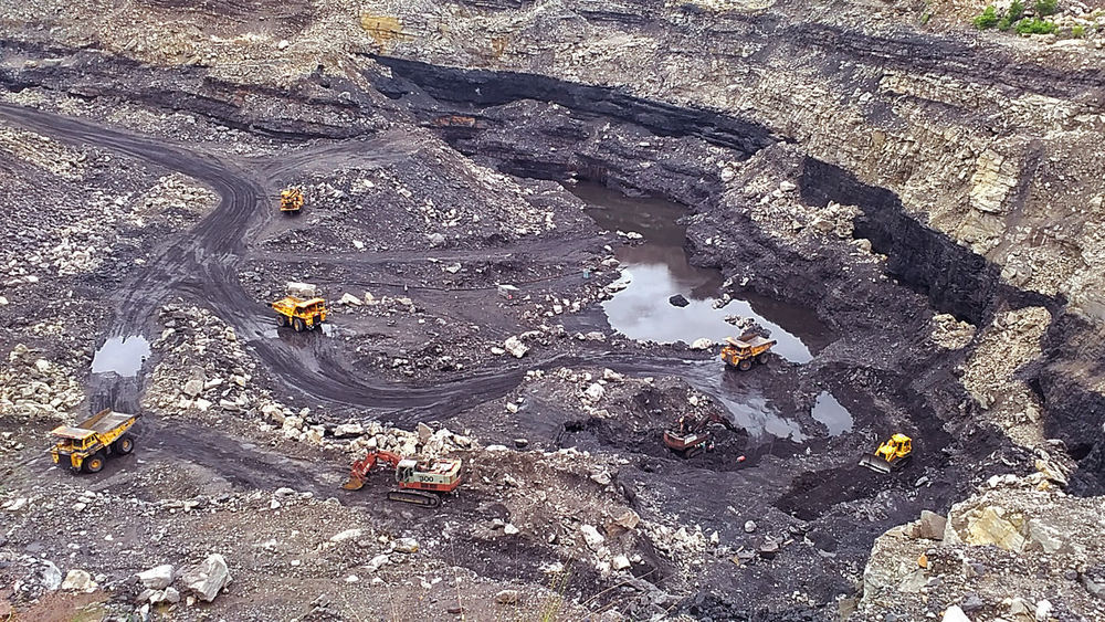 Aerial View BCCL Coal Coal City Coal India Coal Mine Coast Day Dhanbad High Angle View Jharia Jharkhand Mining Mining Industry Nature No People Open Mine Outdoors PhonePhotography Satish