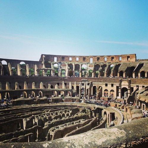 Colesseo Roma Rome Italy italia arquitetura engenharia