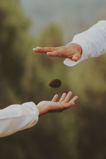 the hands EyeEmNewHere TheWeekOnEyeEM The Week on EyeEm NotYourCliche Human Hand Togetherness Child Palm Love Close-up Falling In Love Romantic Activity Romance Mid Adult Couple Young Couple Autumn Mood
