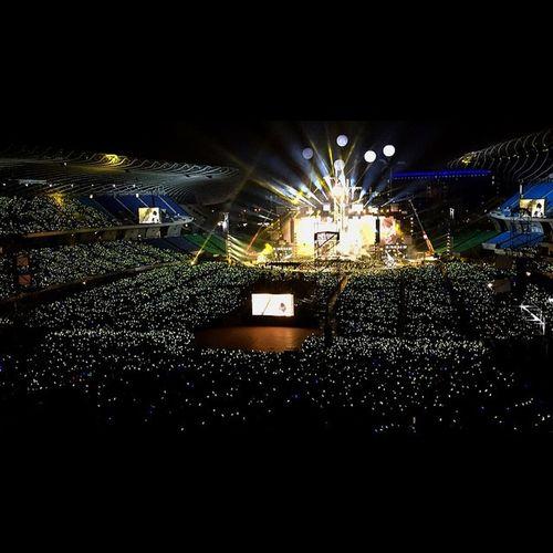 有五月天的陪伴,永遠不會孤單❤️ Mayday  五月天 完美落地 2015  五月天演唱會 高雄世運主場館 高雄 taiwan kaoshiung lightupthehope