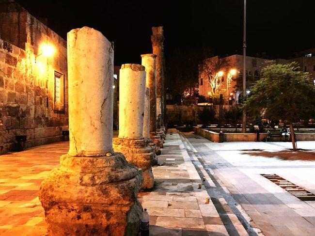 Ancient Modern Amman Jordan IPhoneography Roman Theatre Battle Of The Cities