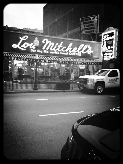 Lou Mitchell's Traveling Road Trip Great Food