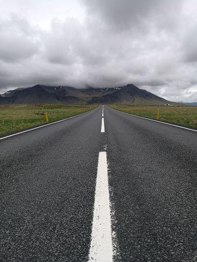 Iceland Islandia Island Road 1 Ring Road Þjóðvegur 1 Vesturland Borgarnes Summer Road Tripping