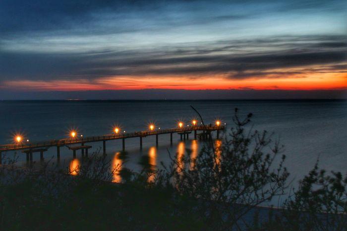 Rerik Rerik Ostsee Mer Baltique Sea Baltic Sea Sunset Strand Beach Mer Allemagne Germany Deutschland Plage See Coucher De Soleil