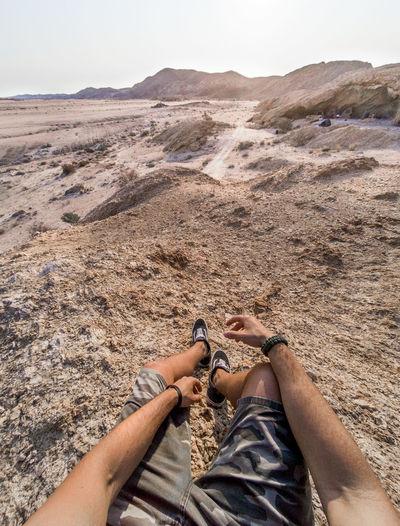 Sand Dune Human