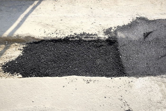 repairs on the city streets Asphalt Pothole Repairing Working Day No People Outdoors Paving Resurfacing Road Site Urban