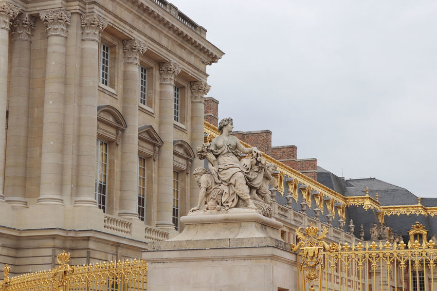 Palace of Versailles 5 Centuries ArtWork Europe Trip France Historical Building Palace Of Versailles Paris Statue Wall Painting Art Decoration Europe Gardens History Architecture Royal Palace Tourism