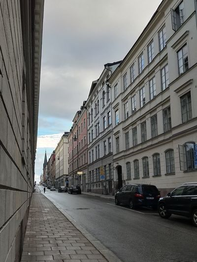 Wall Stone Town Skyline Empty Windows Stockholm Street Streetphotography Outdoors Daylight City Street City Outdoor Photography Façade Tranquil Scene Complexity No People Sweden Car Urban Road Downtown District Residential District Urban Skyline Settlement Calm Tranquility Scenics Residential Structure TOWNSCAPE