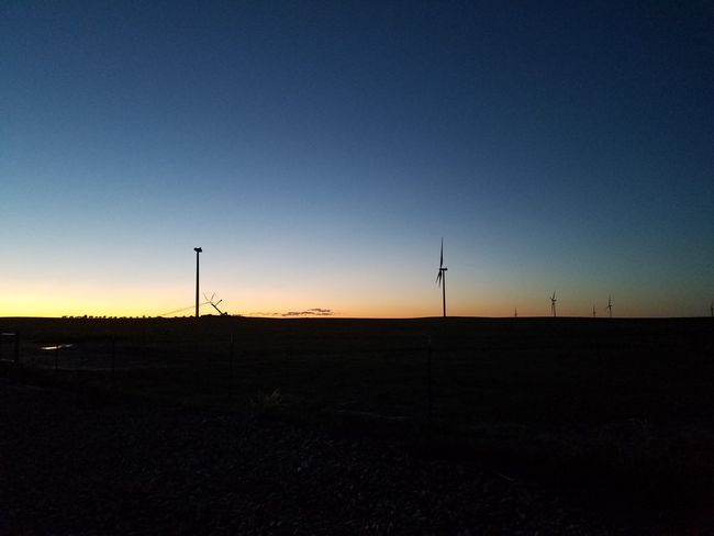 Wind Farm Sky Environment Technology Nature Silhouette Sunset Turbine Renewable Energy Landscape Wind Turbine Clear Sky Beauty In Nature Scenics - Nature Outdoors Alternative Energy Wind Power Copy Space Fuel And Power Generation No People Environmental Conservation HUAWEI Photo Award: After Dark
