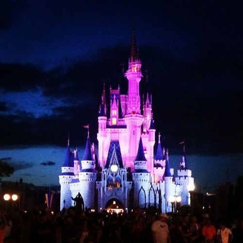 The castle! Cinderellascastle . Disneyworldvacation DisneyWorld Lovesummervacations love