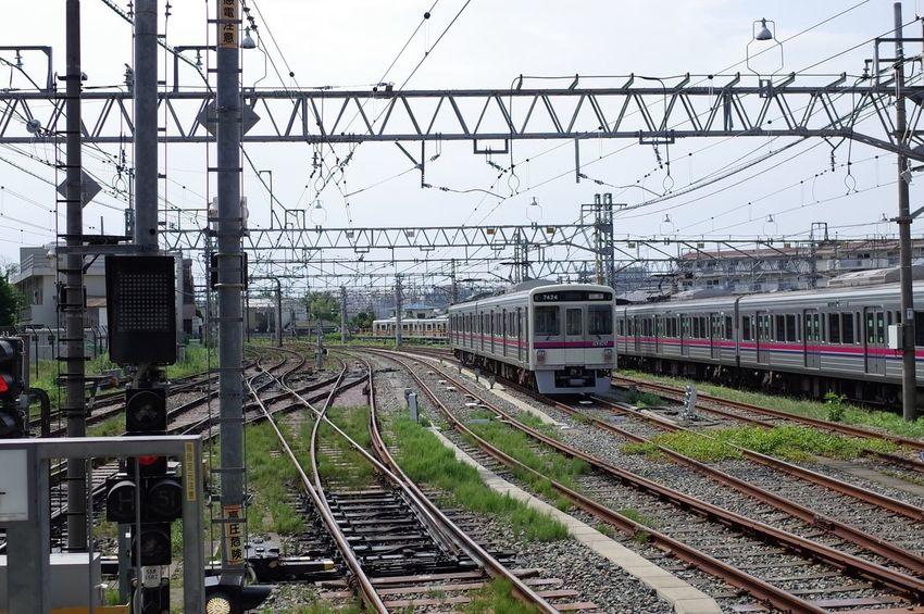 鉄のある景色。 Railway Train Station Train A Day Of Tokyo