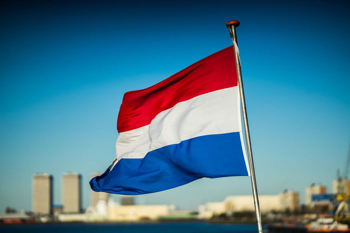 Dutch flag Netherlands Dutch Flag National Icon No People Outdoors Patriotism Wind