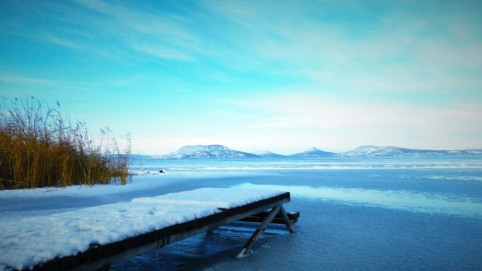 Beauty In Nature Cold Temperature Day Frozen Ice Lake Landscape Mountain Nature No People Outdoors Scenics Sky Snow Tranquil Scene Tranquility Water Winter EyeEmNewHere