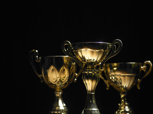 trophy on the black background AWARD Achievement Black Background Celebration Champion Competion  Contest Dark First Golden Shinny Trophy Archieve Best  Bowl Ccupcakesdaily Ceremony Honor Leadership Metal Prize Sport Success Victory Winner