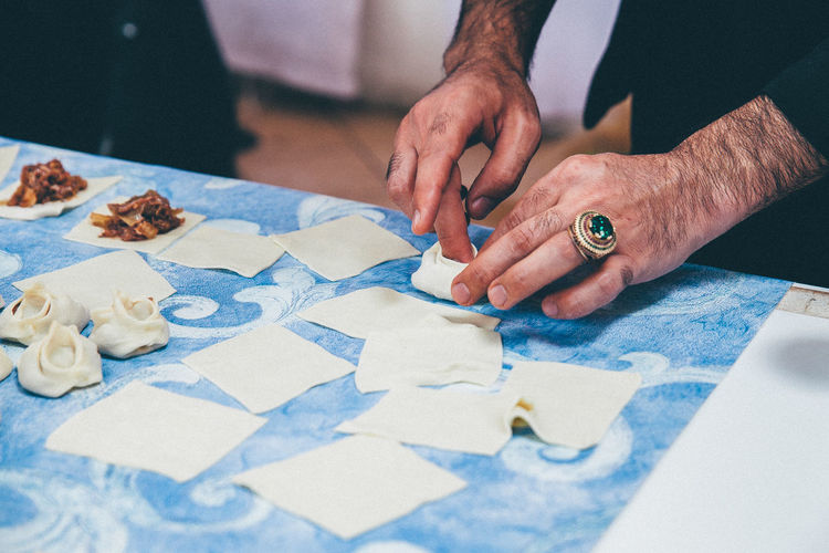 Cooking Dough Food Hands Preparing Food Ring