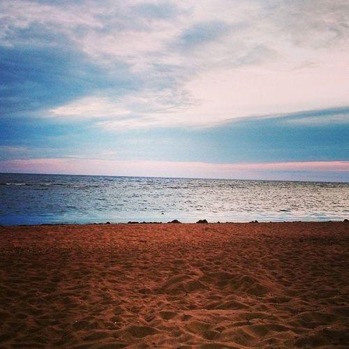 Море лето пляж Залив воданебопесок
