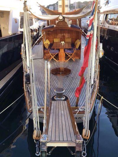 Cannes, France Port Bateau à Voile Oldboat Invitation Au Voyage