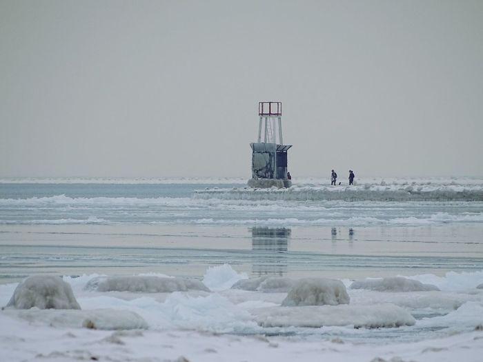 Ice Lake Winter