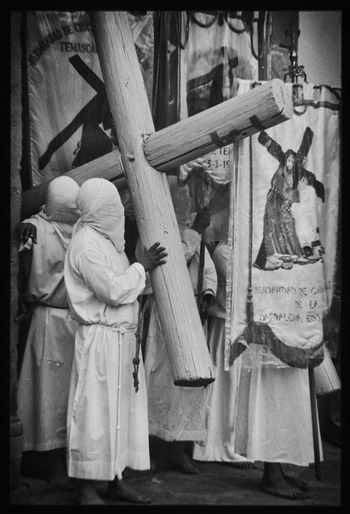Black And White Film Photography Catholic Faith Christ Representation Christianity Cultural Heritage Day Faith&devotion Film Is Not Dead Film Photography Holy Week Celebrations Mexican Traditions Mexico Nikon F3hp/t People Religion Religious Traditions Analogue Photography