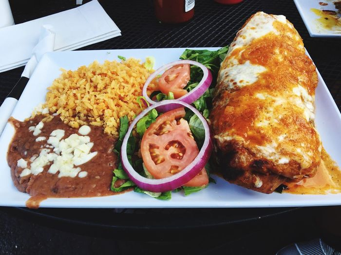 Burrito Suizo Chimichanga Style. Burrito Suizo Chimichanga Style Vpt Dinner Time