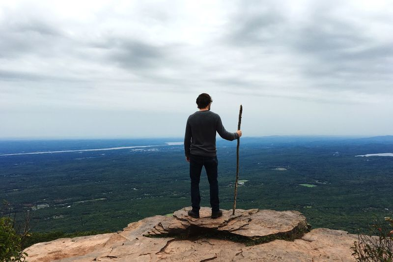 Endless sky Hello World Nature Lookout Mountains View Enjoying The View Watcher New York State Catskill Mountains Catskills Clifftop Cliffs
